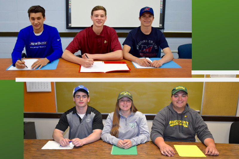 Lynbrook Senior Athletes Set Their Sights on College photo