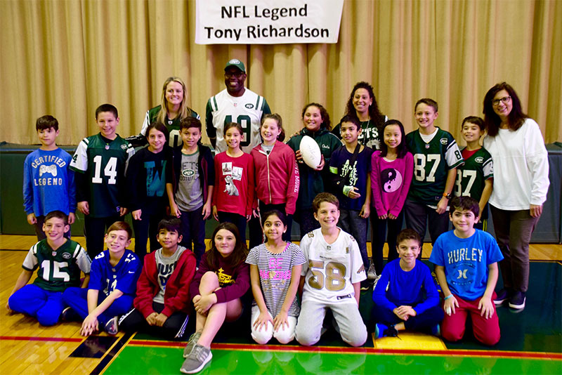 Waverly Tackles Health and Wellness with NFL Legend photo