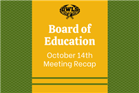 Board of Education Oct. 14 Meeting Recap Photo thumbnail177196