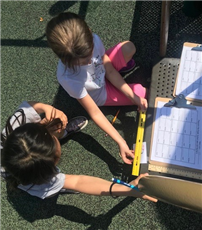 Students Challenge Their Math Skills with Scavenger Hunt Photo 2