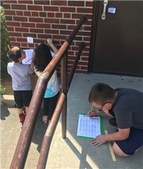 Students Challenge Their Math Skills with Scavenger Hunt Photo 6