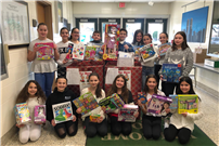 Student Council Collects Toys for Hospital Bound Children Photo