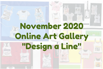 November 2020 Online Art Gallery Design a Line Graphic thumbnail178081
