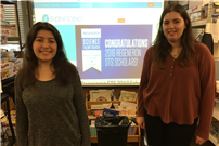 Lynbrook Seniors Crowned Semifinalists in Regeneron Competition Photo